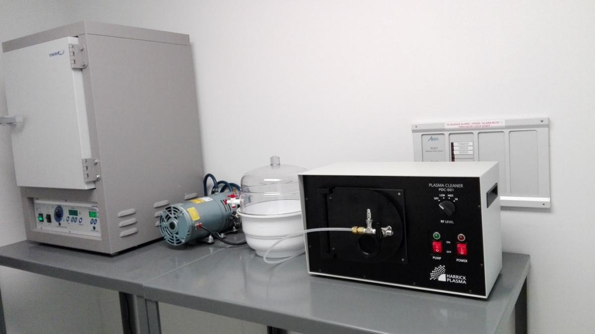 Photo of the PDMS Preparation Area